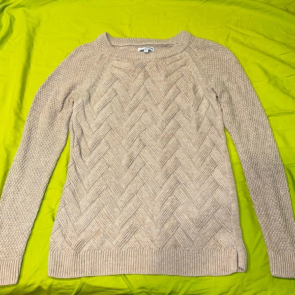 NWOT Sonoma Sweater in size Small, color Beige